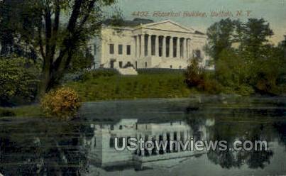 Historical Bldg - Buffalo, New York NY Postcard