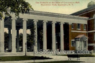 Convention Hall, Exposition Park - Rochester, New York NY Postcard