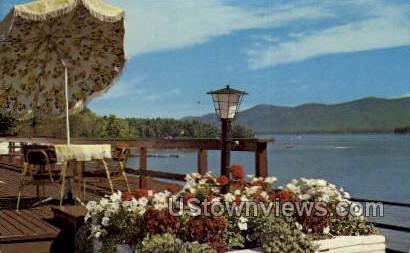 The Georgian - Lake George, New York NY Postcard