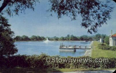 Highland Reservoir - Rochester, New York NY Postcard