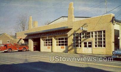Monticello Police & Fire Dept. - New York NY Postcard