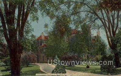 S.D.CoyKendall's Residence - Kingston, New York NY Postcard