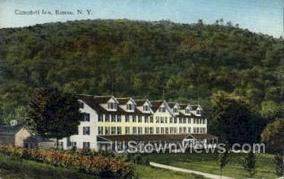 Campbell Inn - Roscoe, New York NY Postcard