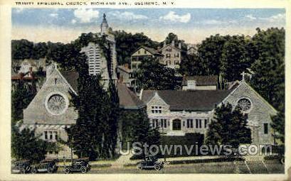 Trinity Episcopal Church - Ossining, New York NY Postcard