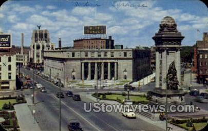 Clinton Square - Syracuse, New York NY Postcard