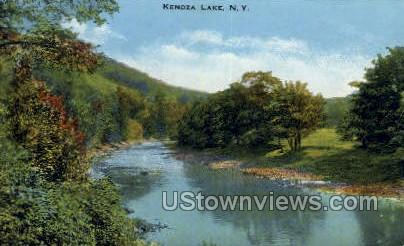Kenoza Lake, New York, NY Postcard