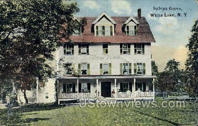 Sylvan Grove - White Lake, New York NY Postcard