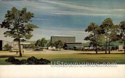 Houghton Park - Corning, New York NY Postcard