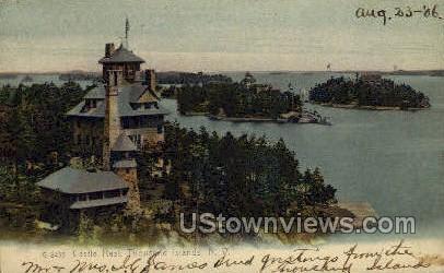 Castle Rest - Thousand Islands, New York NY Postcard