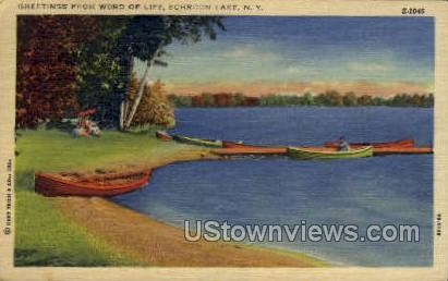 Word of Life - Schroon Lake, New York NY Postcard