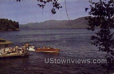 Northwest Bay - Lake George, New York NY Postcard
