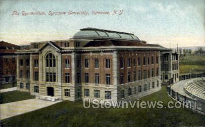 The  Gym, Syracuse University - New York NY Postcard