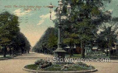 Porter Ave. - Buffalo, New York NY Postcard