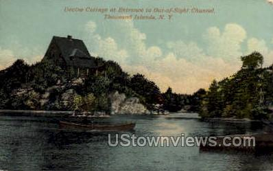 Devine Cottage - Thousand Islands, New York NY Postcard