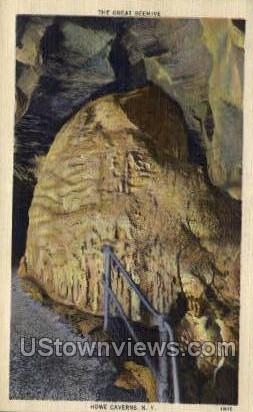 The Great Beehive - Howe Caverns, New York NY Postcard