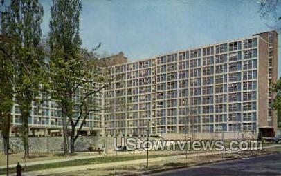 Dellplain Hall, Syracuse University - New York NY Postcard