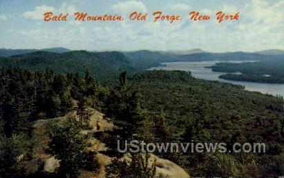 Bald Mountain - Old Forge, New York NY Postcard