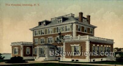 Hospital, Ossining - New York NY Postcard