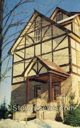 Eddie Cantor Lodge Grossinger - Liberty, New York NY Postcard