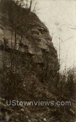 Rock Along Genesee River - Rochester, New York NY Postcard