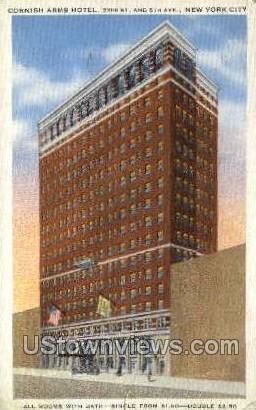 Cornish Arms Hotel - New York City Postcards, New York NY Postcard