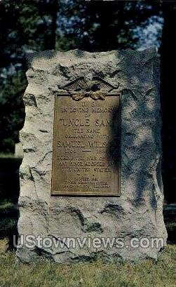 Oakwood Cemetery - Troy, New York NY Postcard