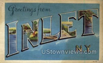 Inlet, New York, NY Postcard