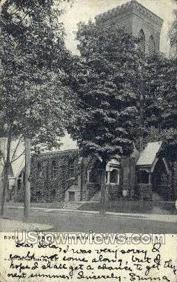 Baptist Church  - Mt Vernon, New York NY Postcard