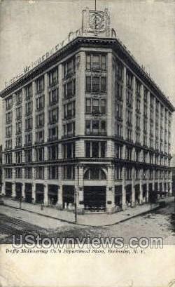 Duffy-McInnerney Co. Dept Store - Rochester, New York NY Postcard