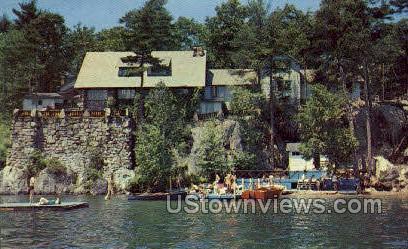 Blue Water Manor - Lake George, New York NY Postcard