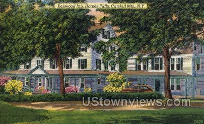 Kenwood Inn - Haines Falls, New York NY Postcard