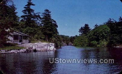 Mollie's Gut - Thousand Islands, New York NY Postcard