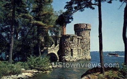 Old Power Hosue - Thousand Islands, New York NY Postcard