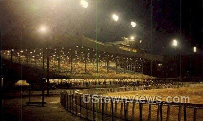 Monticello Raceway - New York NY Postcard