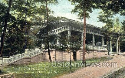 Chautauqua Institution - New York NY Postcard