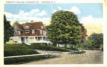 Woman's Club - Ossining, New York NY Postcard