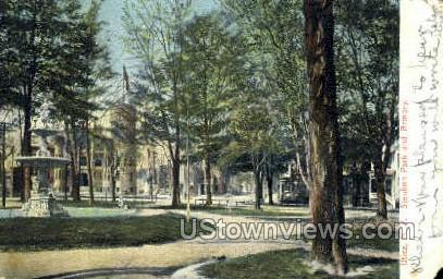 Steuben Park & Armory - Utica, New York NY Postcard
