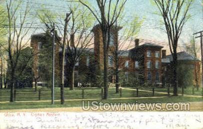 Orphan Asylum - Utica, New York NY Postcard