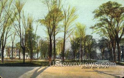 Steuben Park - Utica, New York NY Postcard