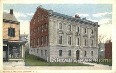 Municipal Bldg - Ossining, New York NY Postcard