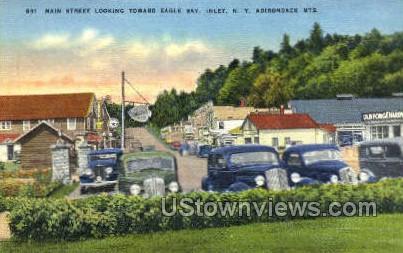 Eagle Bay - Inlet, New York NY Postcard