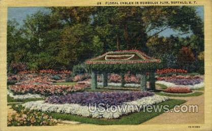 Humboldt Park - Buffalo, New York NY Postcard