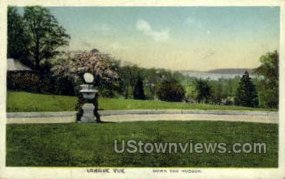 Longue Vue - Hudson, New York NY Postcard