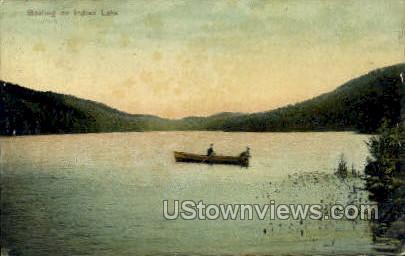 Indian Lake, New York, NY Postcard