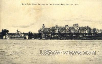 St. Nicholas Hotel - Misc, New York NY Postcard