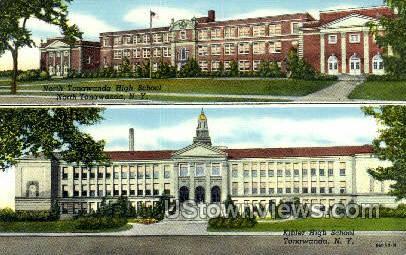 Kibler High School - Tonawanda, New York NY Postcard