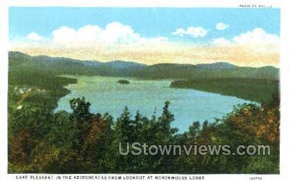 Lake Pleasant - Adirondack Mts, New York NY Postcard