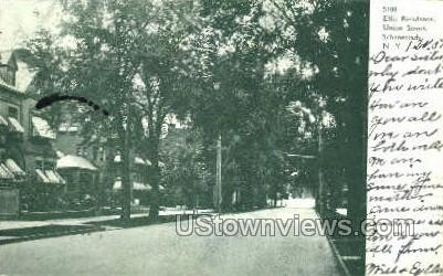 Ellis Residence - Schenectady, New York NY Postcard