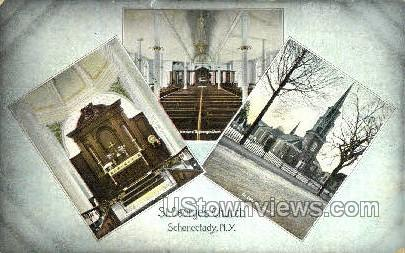 St. George's Church - Schenectady, New York NY Postcard