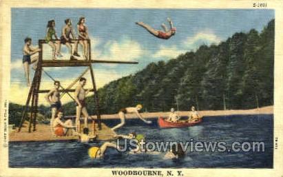 Woodbourne, New York, NY Postcard